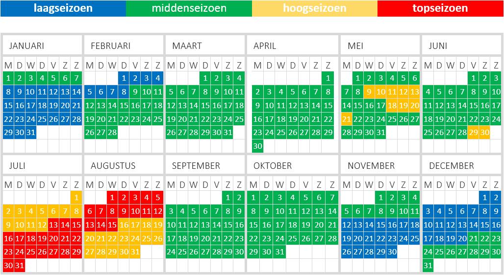 seizoenskalender