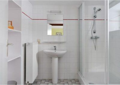 douche kamer vakantiehuis belgische Ardennen