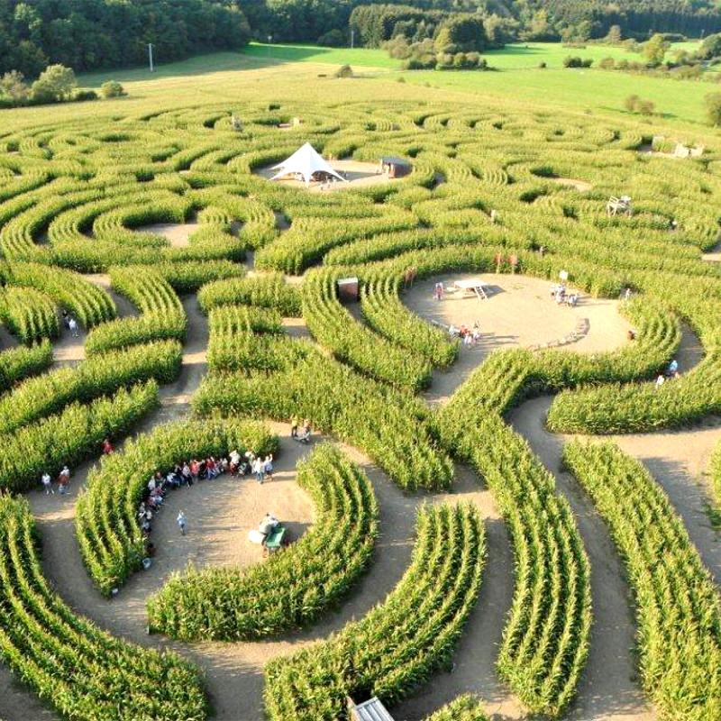 Labyrinth van Barvaux