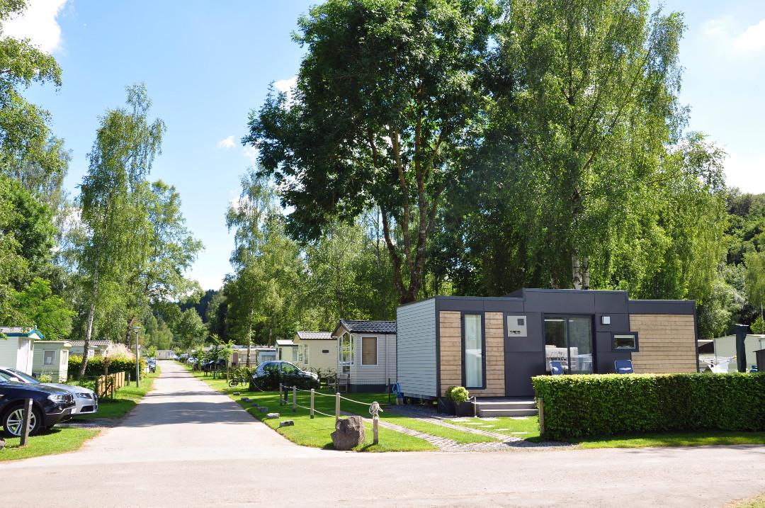 Jaarplaats - camping Ardennen