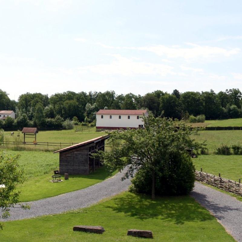 Malagne, het Archeopark van Rochefort