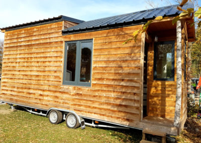 tiny house te koop glamping ardennen