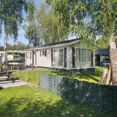 Mobile Chalet Grand luxe camping Ardennen
