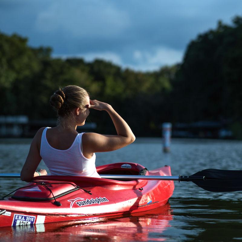 Descente en kayak en Ardenne