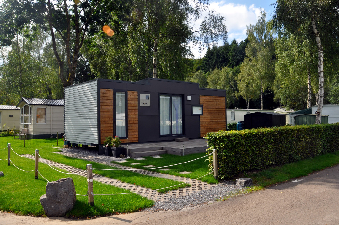Location de mobile home en Ardenne