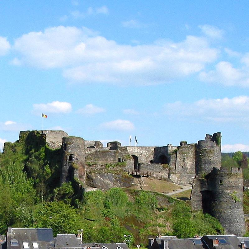 Le chateau féodal de La Roche-en-Ardenne