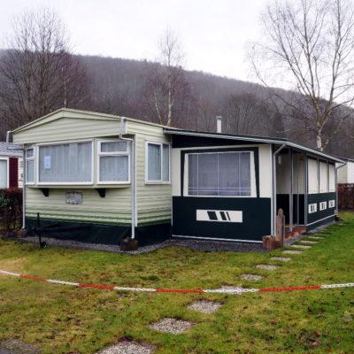 Caravane à vendre camping Ardenne Belge