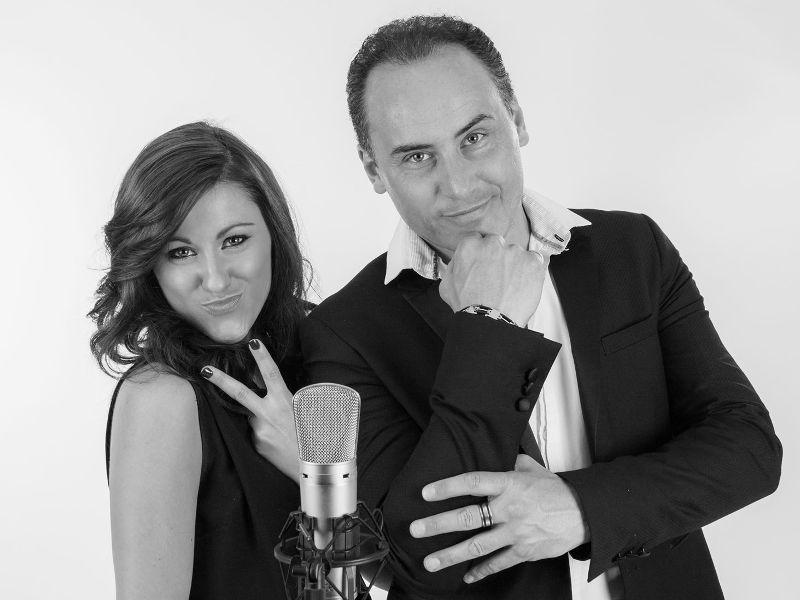 Sandra Elisa et David Caruso