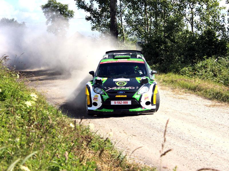 Rallye sprint winning Erezée
