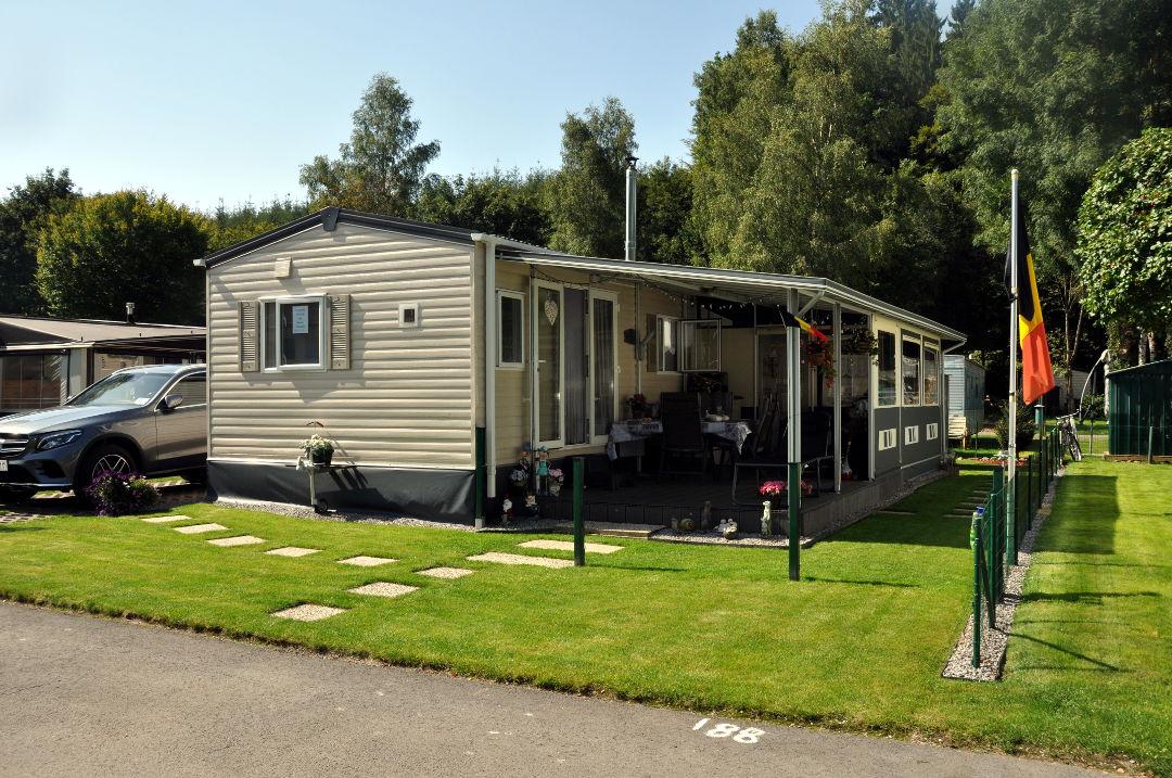 Caravane 2 chambres a vendre camping ardenne belgique for Caravane chambre 19