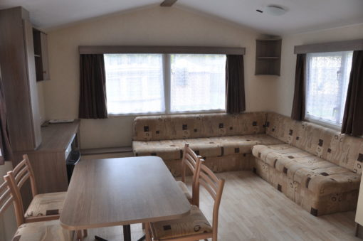 salon avec canapé d'angle