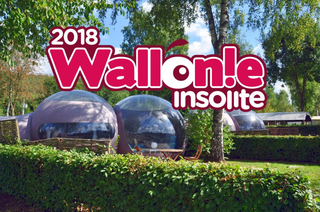 Wallonie insolite 2018 - séjour insolite