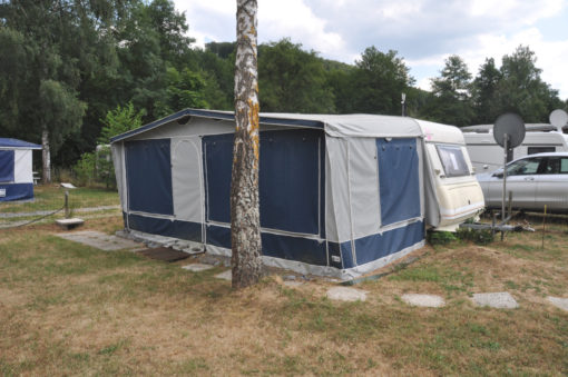 Caravane tractable a vendre camping Ardenne