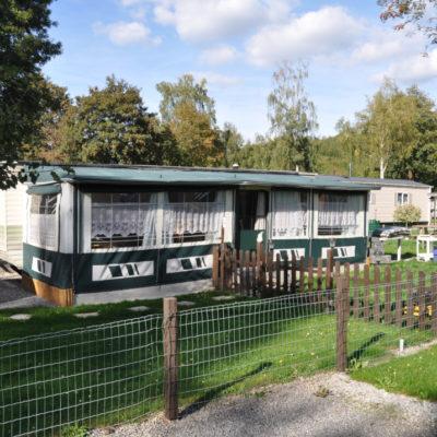 Mobile home à vendre camping Ardennes belges