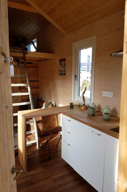 Tiny Houses avec cuisine équipée glamping Ardenne Belge
