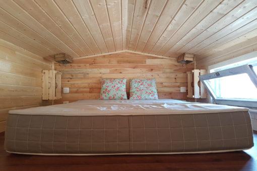Tiny Houses avec chambre lit double Ardenne Belgique