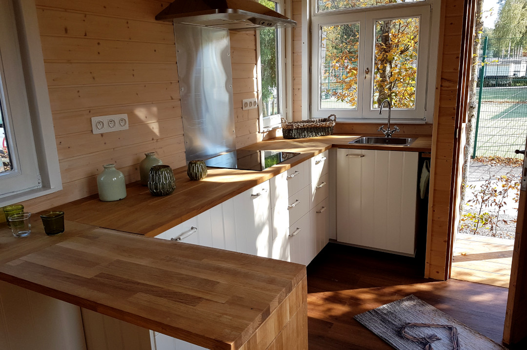 Tiny Houses glamping écotourisme Ardenne belge