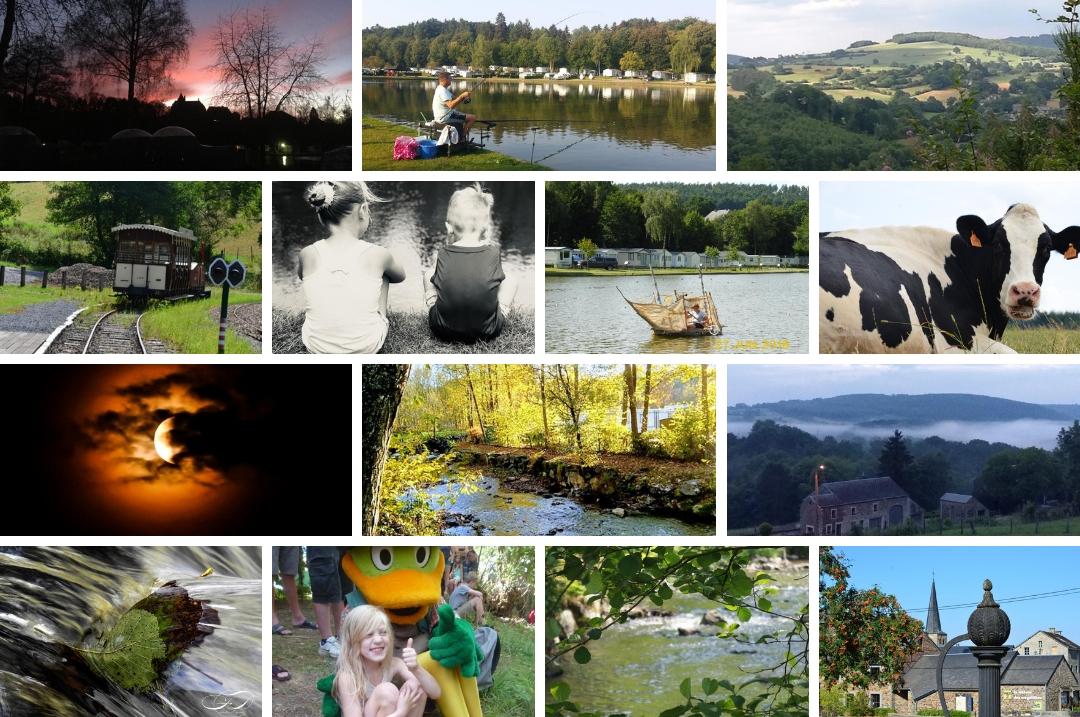 Photos de vacances dans les Ardennes belges