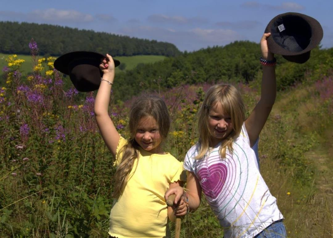 Promenade dans la nature wallone en plein coeur de l'Ardenne
