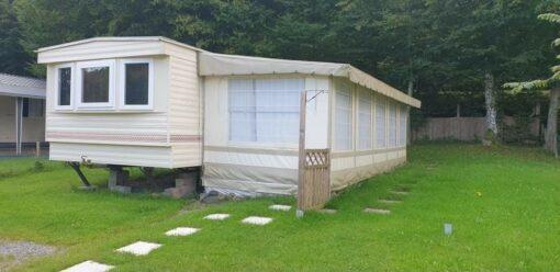 Caravane à vendre 2 chambres et grand auvent