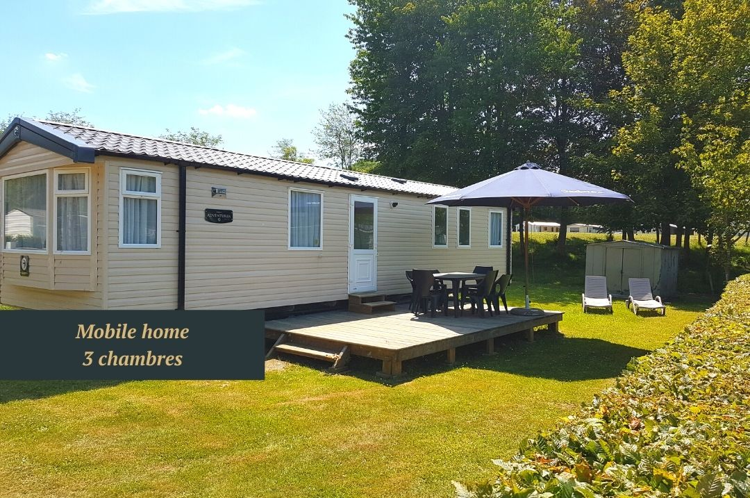 Location de mobile home et bungalow canping Ardenne belge
