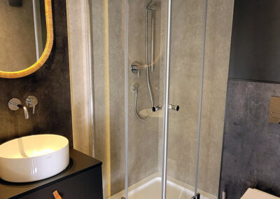 Glamping Belgique hébergement insolite avec salle de bain